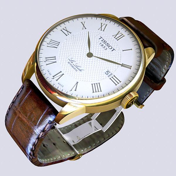 maya tissot le locle wrist watch