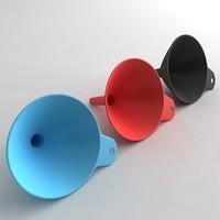 3d max plastic funnel