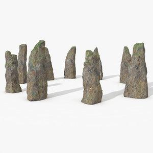 3dsmax stone