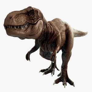 3d t-rex rex model