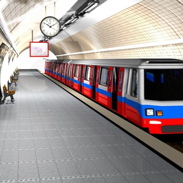 Underground train Clipart Vector and Illustration 2114