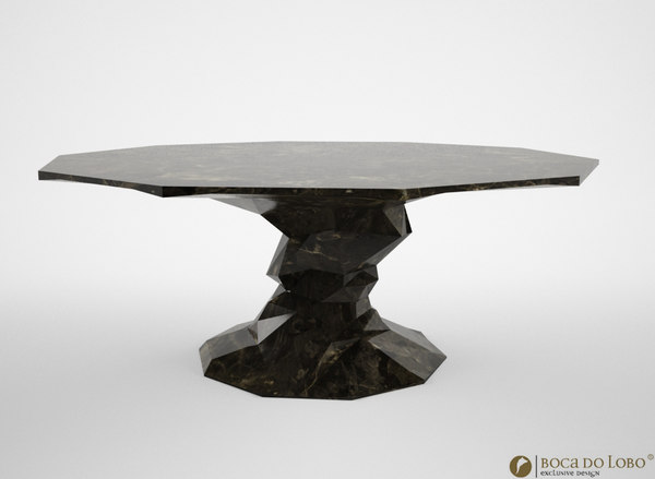 3d boca lobo bonsai table