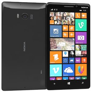 nokia lumia 930 black c4d