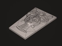 3d decorative model