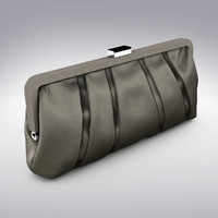 3d max luxury classic clutch bag