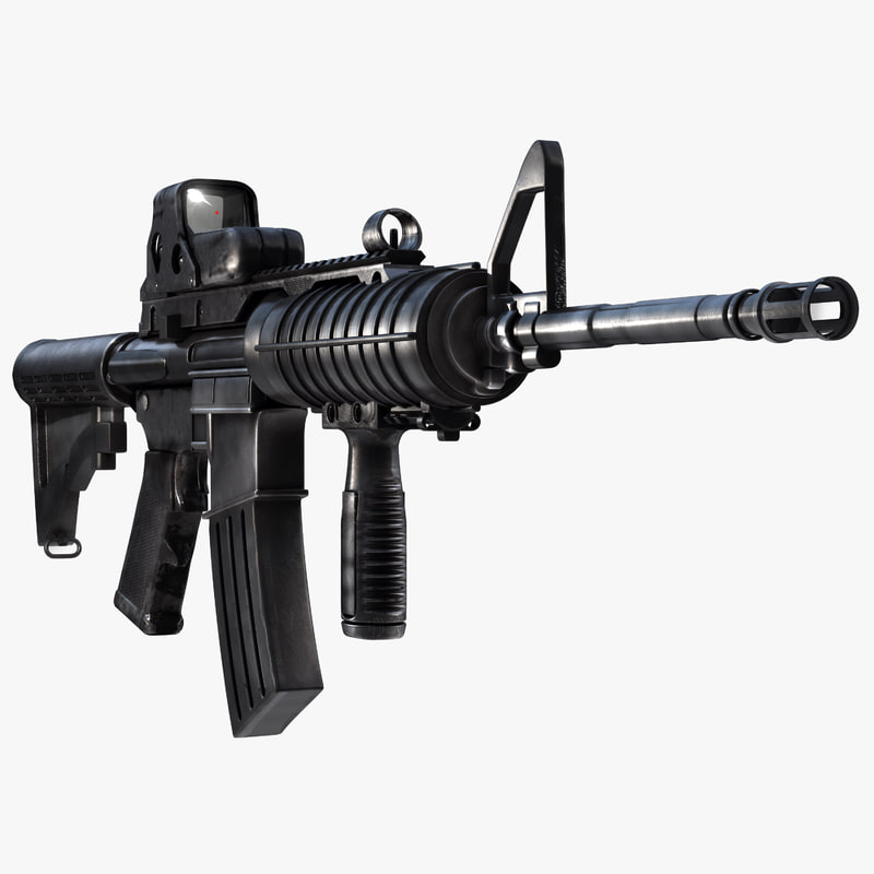 assault rifle m4a1 max