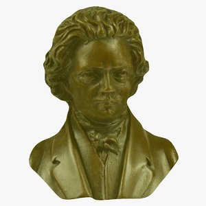 3d model wall beethoven fg