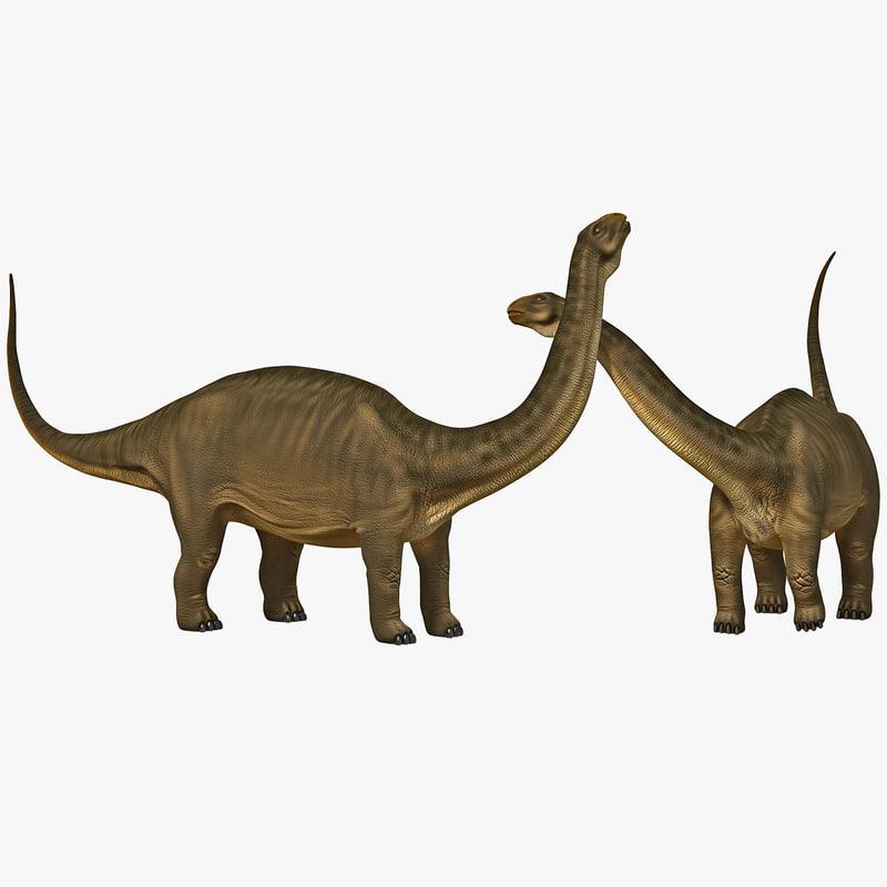 max brontosaurus pose 2