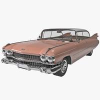 cadillac eldorado 1959 3d max