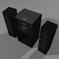 Big Stereo Setup: Multiple Components