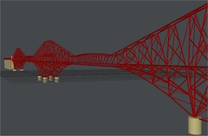 lightwave forth firth railway bridge