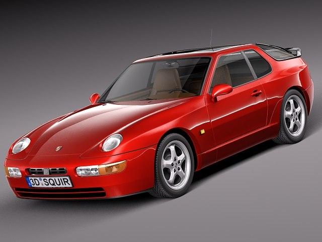 3d classic sport porsche 1995 model