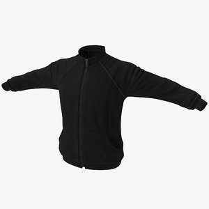 3dsmax sportswear jacket