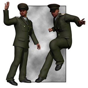 military dress uniform m4 3d pz3