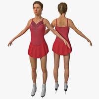 women figure skater version ma