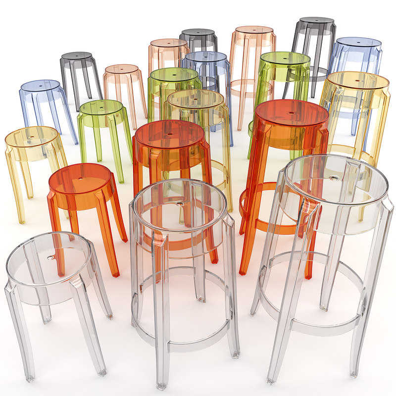 3d charles ghost stool model