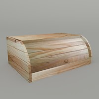 bread box 3d obj