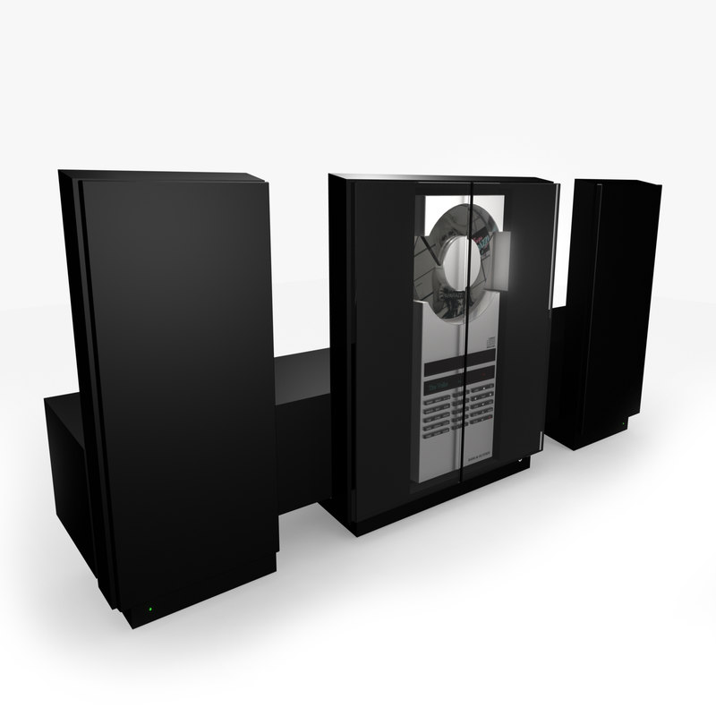 bang olufsen beosound ouverture 3d model. Black Bedroom Furniture Sets. Home Design Ideas