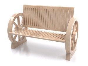 cart chair 3d model