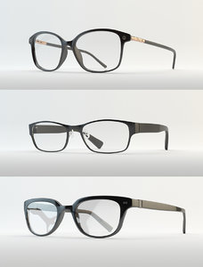 3d model eyewear eyeglasses glass