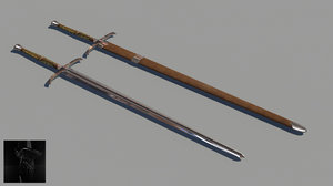 english longsword obj