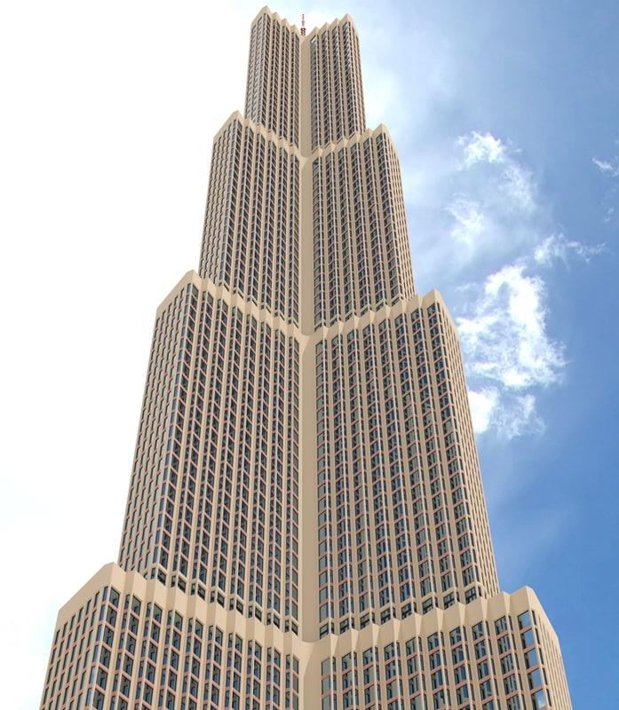 3d model skyscraper nr 2