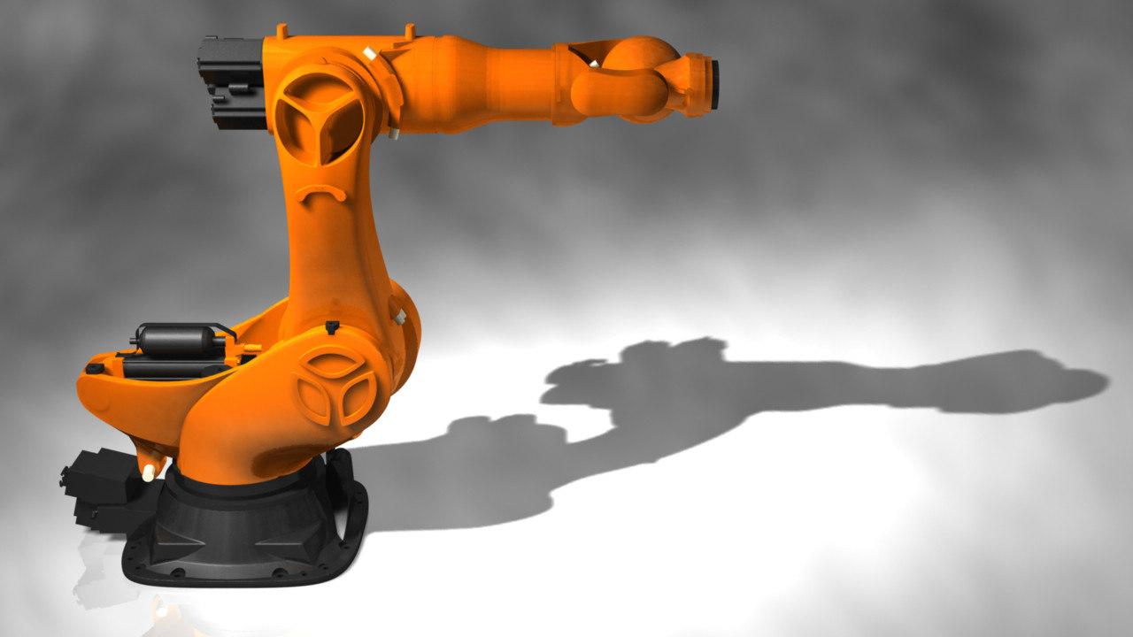 robot bot industrial 3d ma