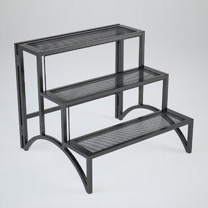 rack interiors v-ray 3d model