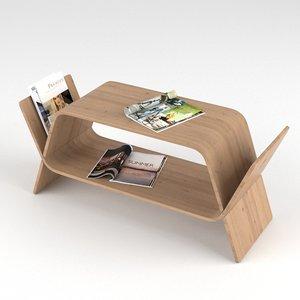 3d sideboard magazines model