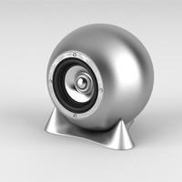 3d speaker realistic