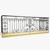 Wrought Iron Balcony 2