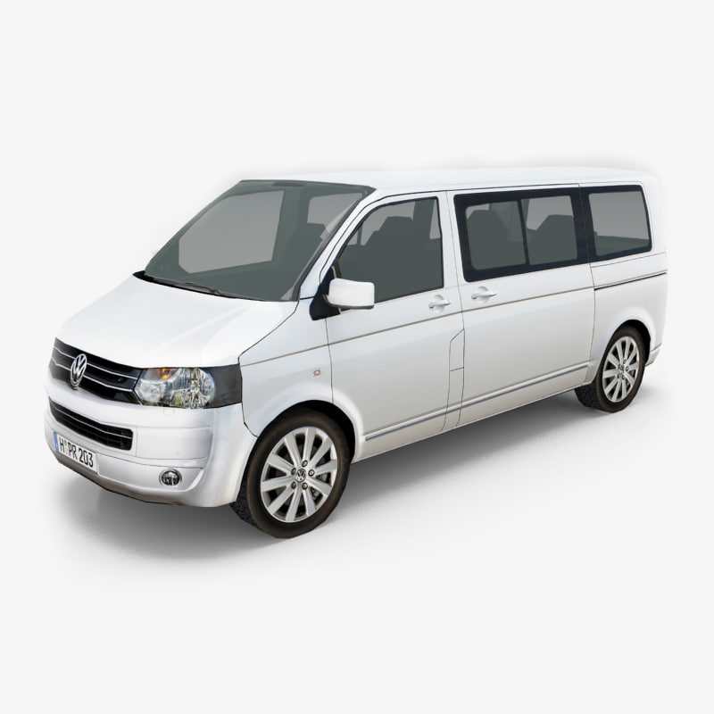 3d max vehicle volkswagen transporter t5