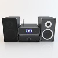 Philips Wireless Micro Hi-Fi System MCi500H-12
