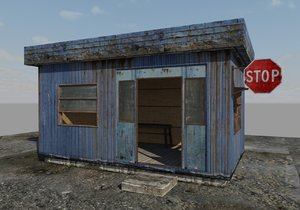 3d model checkpoint building