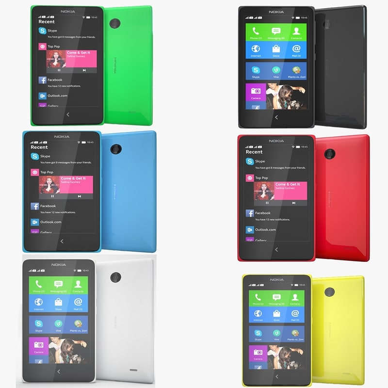 max nokia x colors