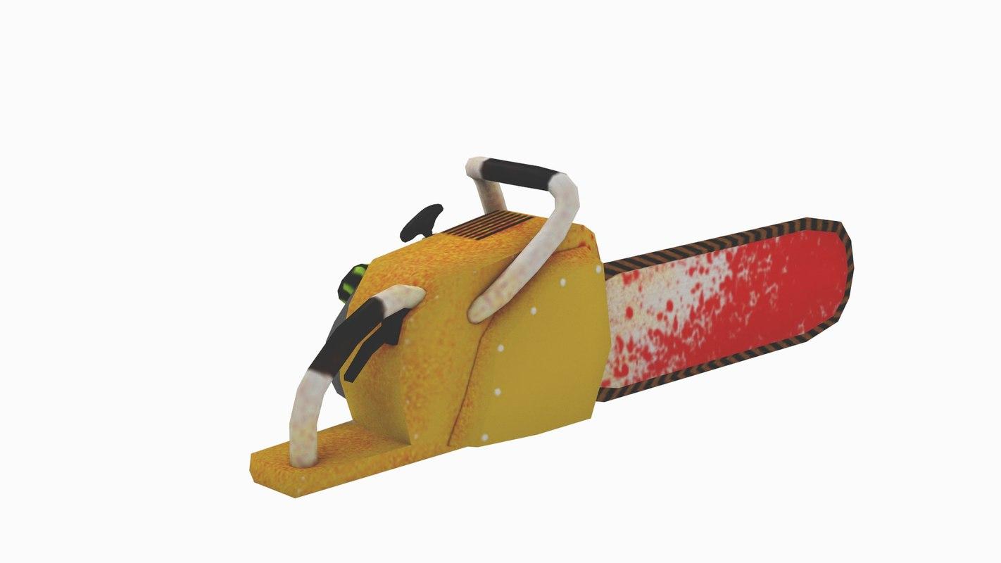 chainsaw chain 3ds