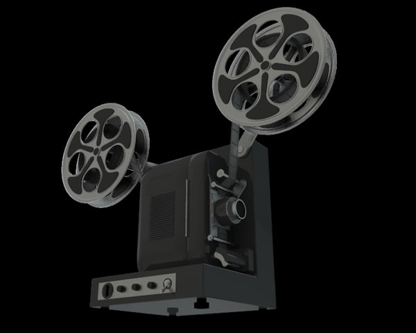 3d cinematic projector model