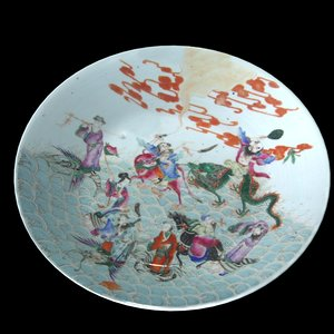 3ds max chinese antique plate