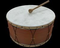 drum 3d model
