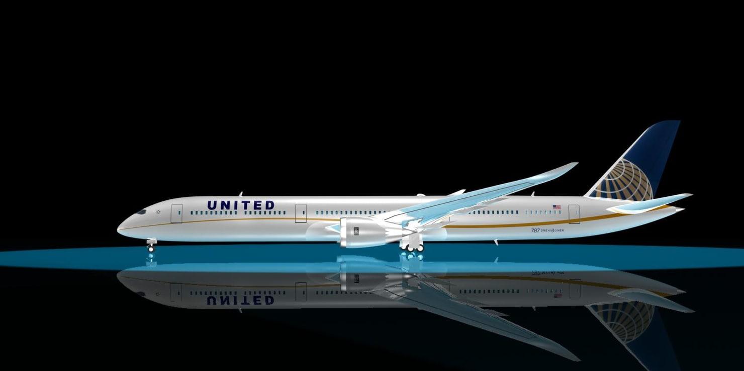 united airlines 787-10 u max