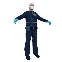 3ds max forensic man