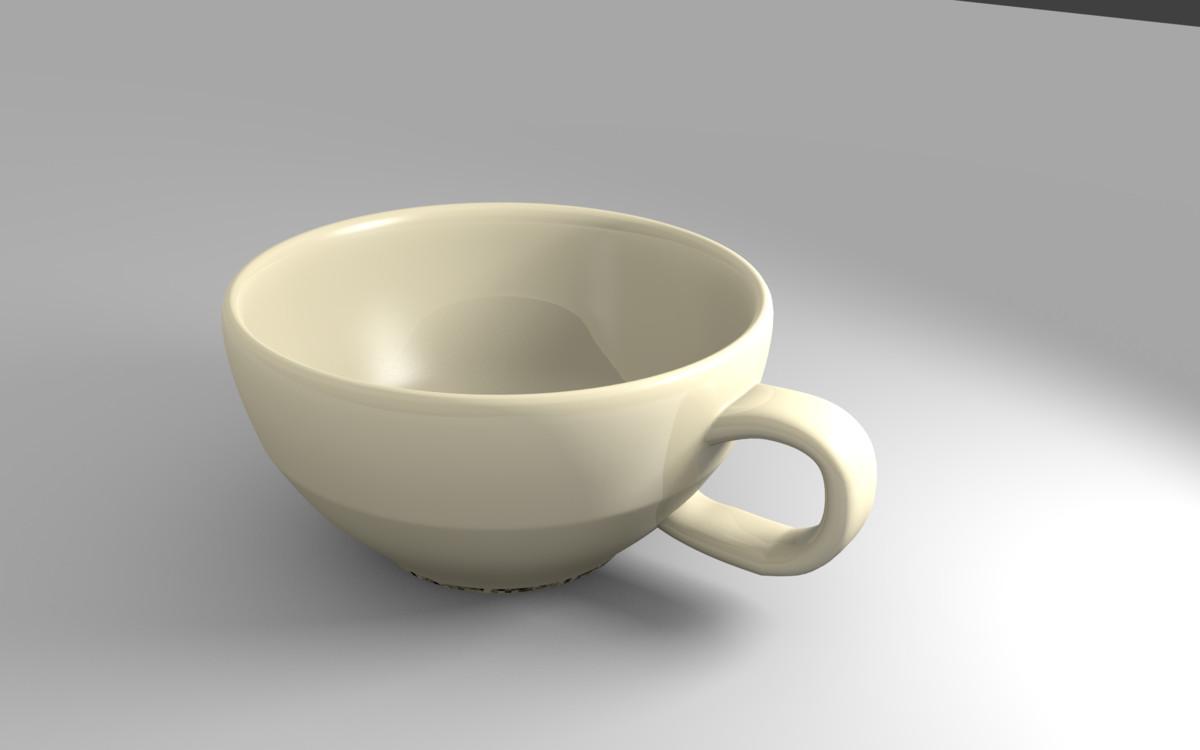 simple cup 3d model