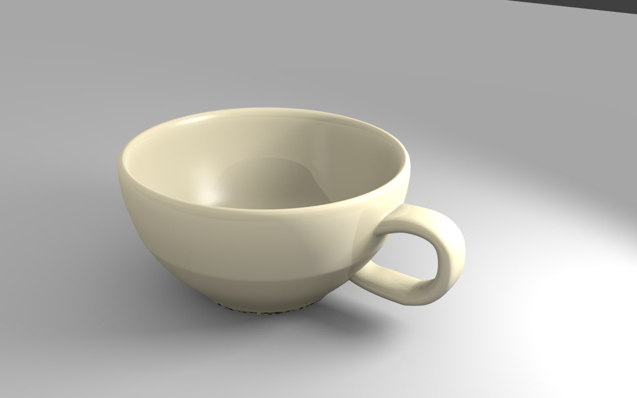simple cup 3d model