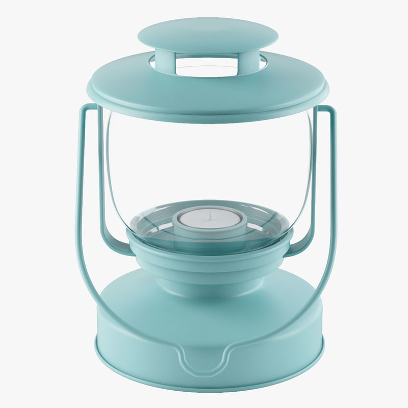 decorative lantern 3d 3ds
