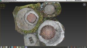 manhole hole 3d max