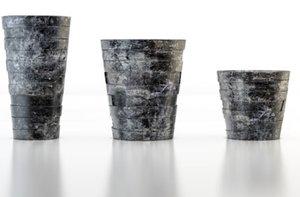 3d pots decorating model