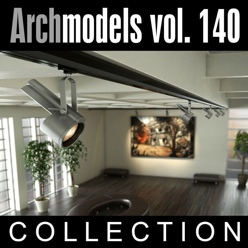 3d archmodels vol 140 model