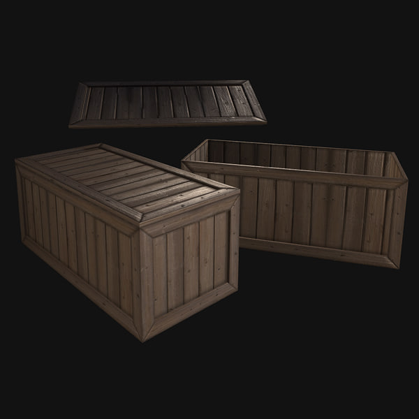 3d x - closed crate