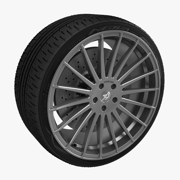 3ds max hamann evo alloy wheel