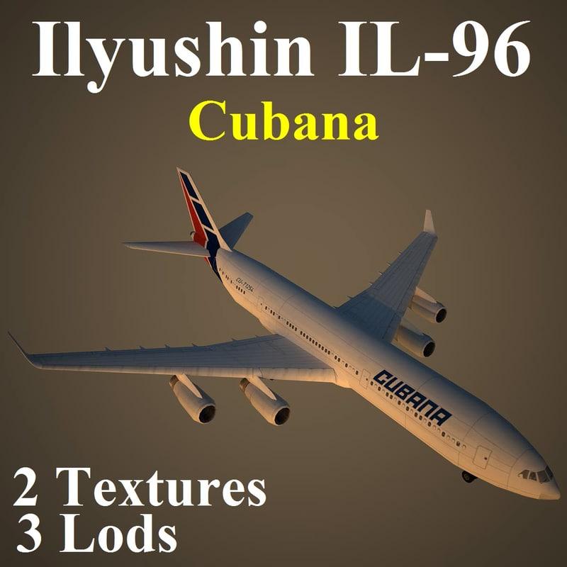 ilyushin cub 3d max